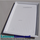 1130 X 670 LARGE SHOWER TRAY WHITE